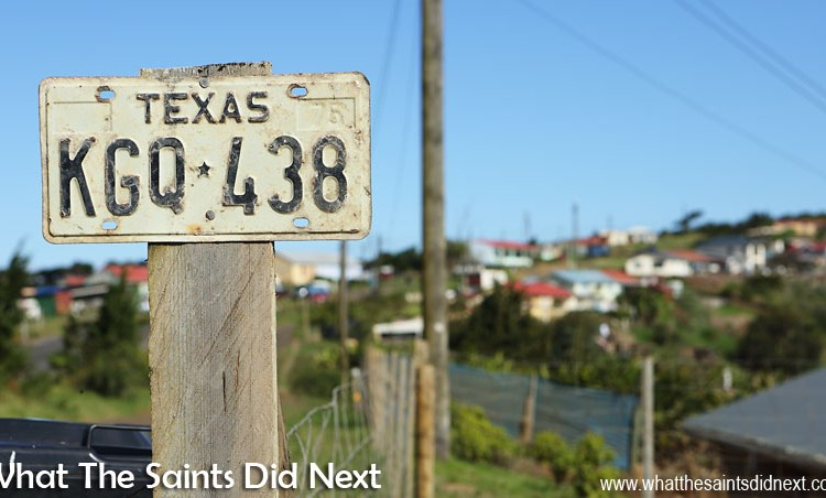 Welcome To The District Of Longwood St Helena AKA Texas