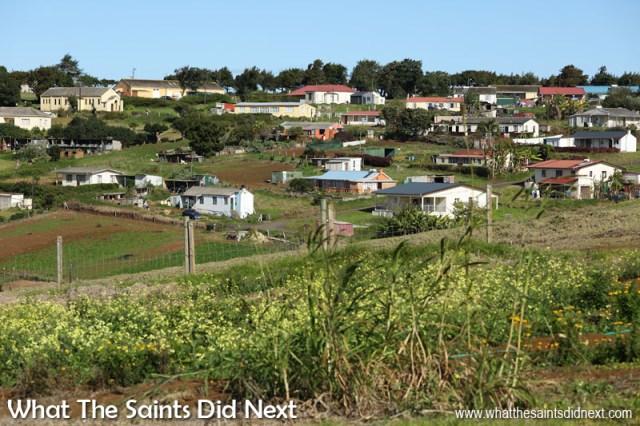 The neighbourhood of Blackfield and Longwood Avenue within Longwood St Helena.