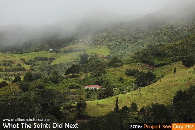 'Obese rescue' 18 September 2016, 11:49 - 1/640, f8, ISO-200 What The Saints Did Next - 2016 Project 366 St Helena Island's central peaks covered in low lying cloud.