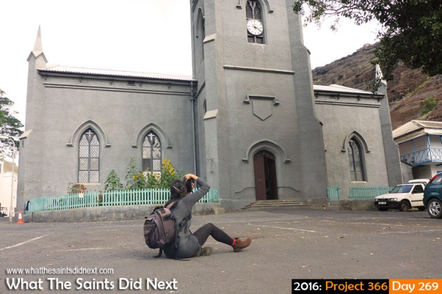 'Criminal behaviour' 25 September 2016, 15:27 - 1/320, f3.3, ISO-50 - Panasonic Lumix What The Saints Did Next - 2016 Project 366 Photographing St James Church in Jamestown, St Helena.