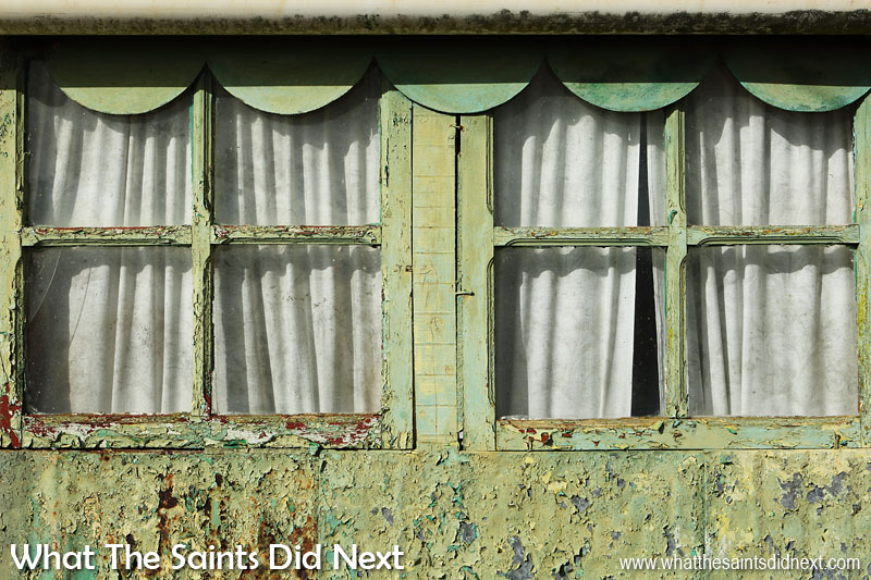 St Helena Tour in Pictures They don't make 'em like this anymore. Wooden window frames in a very old country house, still stylish even though they could do with a little paint.