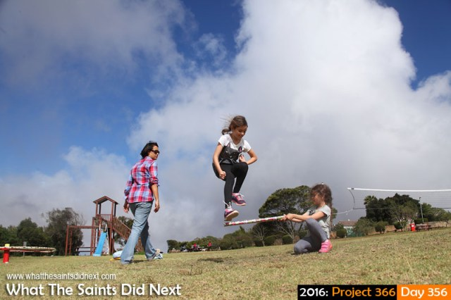 'Millennianianeeman' 21 December 2016, 15:47 - 1/800, f8, ISO-200 What The Saints Did Next - 2016 Project 366 High jump games on Longwood Green, St Helena.