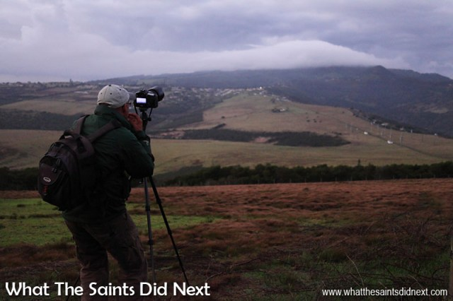 Best Way To Improve Photography Skills - Photography Project 366 - Day 23. A cold and windy dawn in January on the upper slopes of Deadwood Plain. Morning skies on St Helena can be clear at 5am then completely cloud covered an hour later, quickly spoiling an early start.