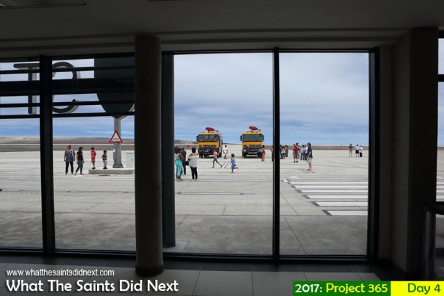 'Strange intelligence' 4 January 2017, 13:45 - 1/640, f8, ISO-200 What The Saints Did Next - 2016 Project 366 Open day at St Helena Airport.