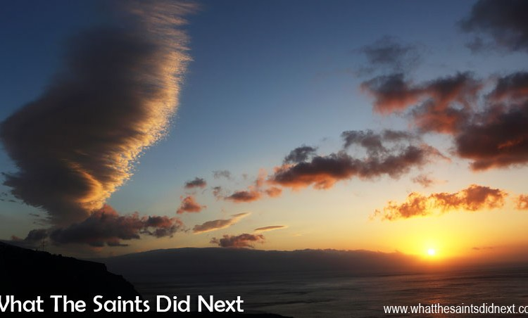 Project 365, Day 95: The Silver Lining over St Helena