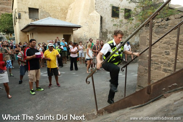 The Jacob's Ladder Challenge, St Helena.
