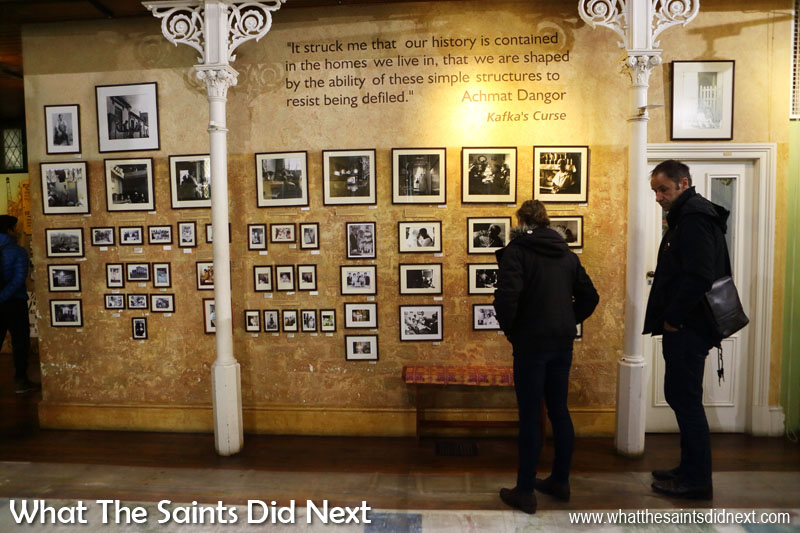 Much of the photographic displays on show in the District Six Museum is either donated or on loan from former residents.