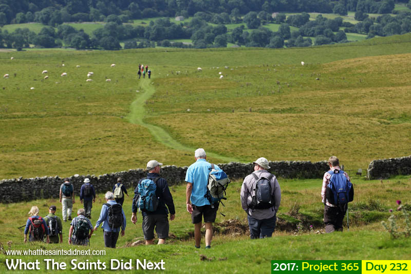'Changing of the guard'<br /> 20 August, 2017, 12:33 - 1/640, f8, ISO-200<br /> Hiking the Pennines in Aysgarth, Yorkshire.
