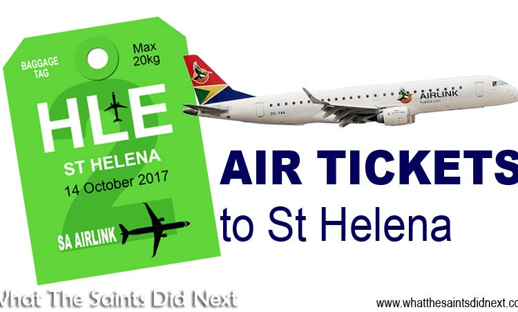 Ticket Prices for Flights to St Helena from South Africa