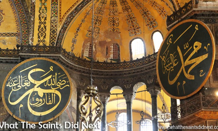 Visiting The Hagia Sophia Museum in Istanbul, Turkey