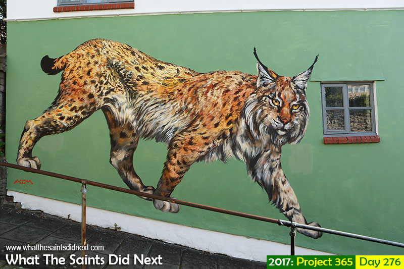 "'Free Fallin'<br /> 3 October, 2017, 08:42 - 1/125, f8, ISO-200<br /> <a href=""http://whatthesaintsdidnext.com/graffiti-stokes-croft-bristol-international-artist-day/"" target=""_blank"" rel=""noopener"">Graffiti street art in Bristol city</a>, UK."