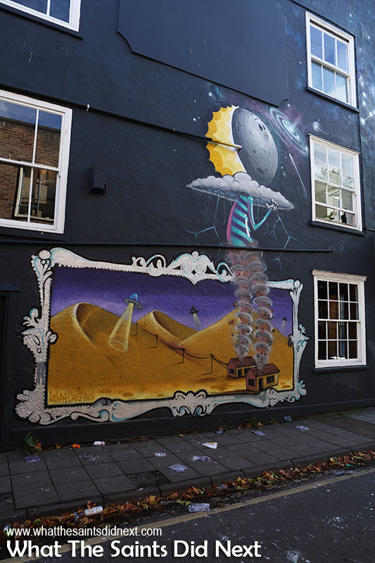 Things to do in Bristol for free - street art tour.