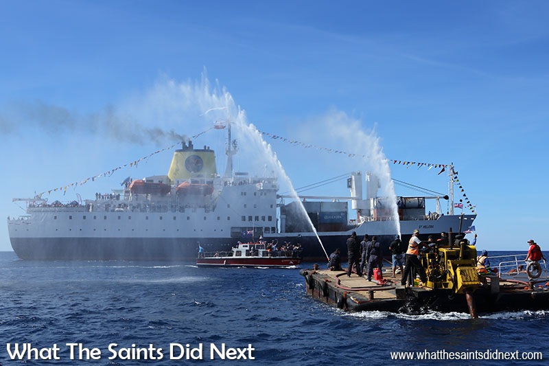 RMS St Helena Last Voyage – A Tearful Goodbye From St Helena