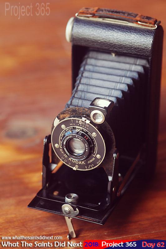 Kodak Six-20 Junior model, vintage bellows camera (Anastigmat 100mm f/6.3).
