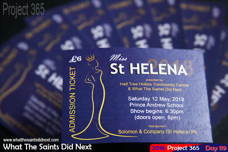 Miss St Helena tickets are like gold.