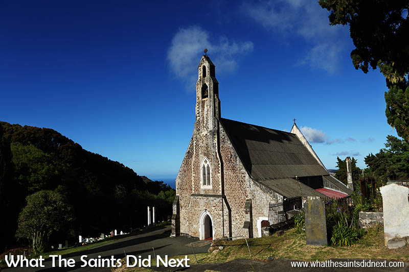 St Pauls Cathedral of St Helena Island.
