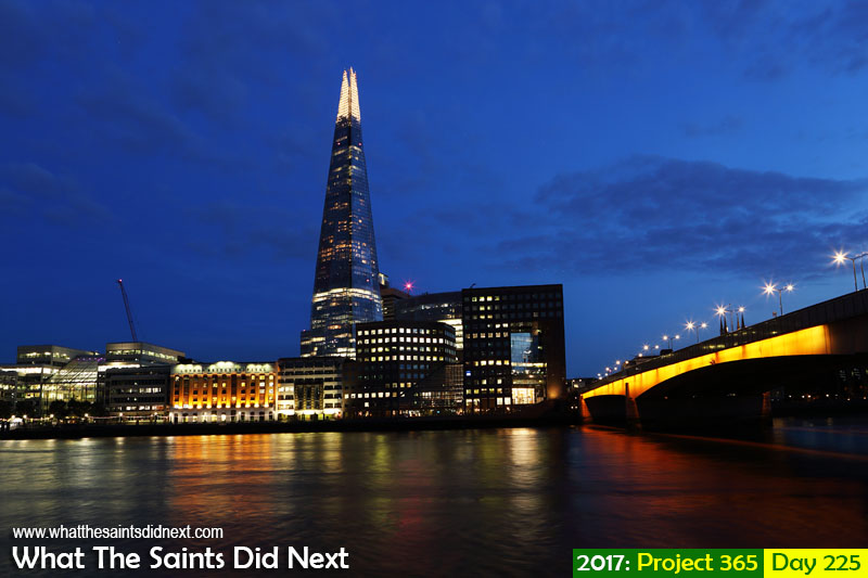 Project 365 Photography Challenge The Shard and London Bridge