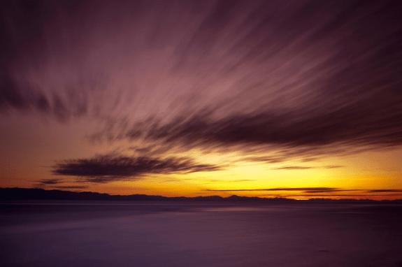 Sunset at Otter Point by Jason van der valk