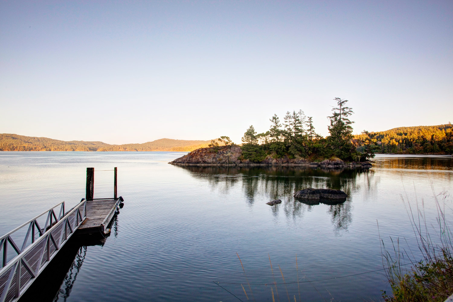 Waterfront property with dock