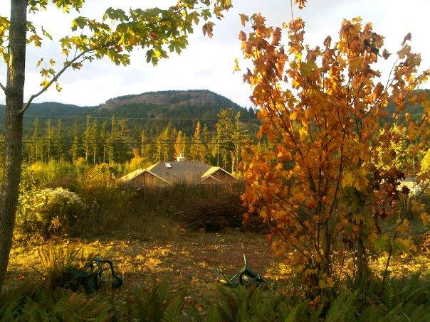 Bluff Mountain and Ridge, from Demamiel Creek Estates