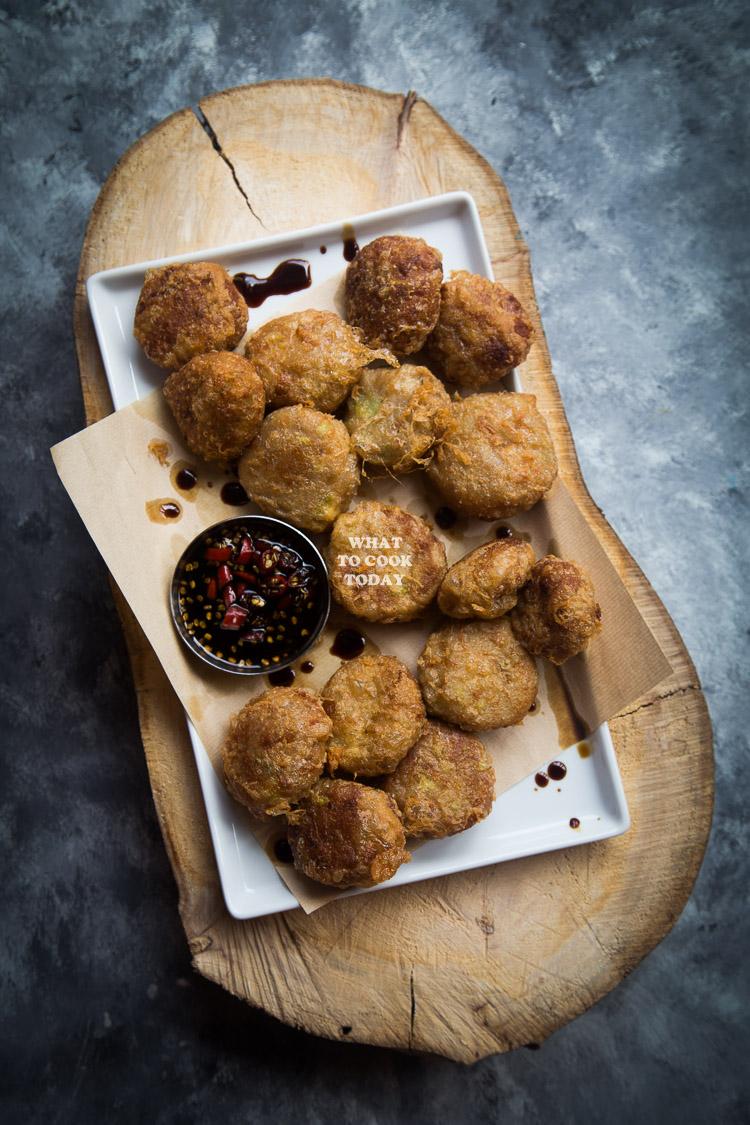 Mom's Potato Fritters / Indonesian Perkedel Kentang