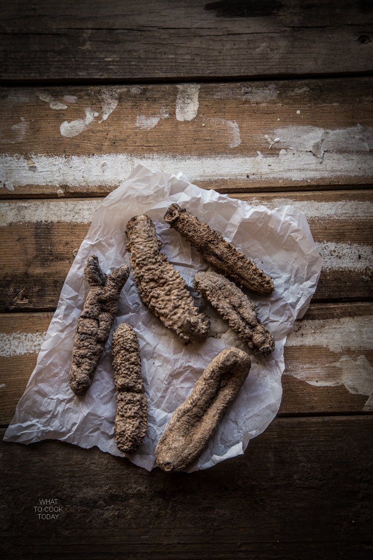 How to clean rehydrate and clean sea cucumber