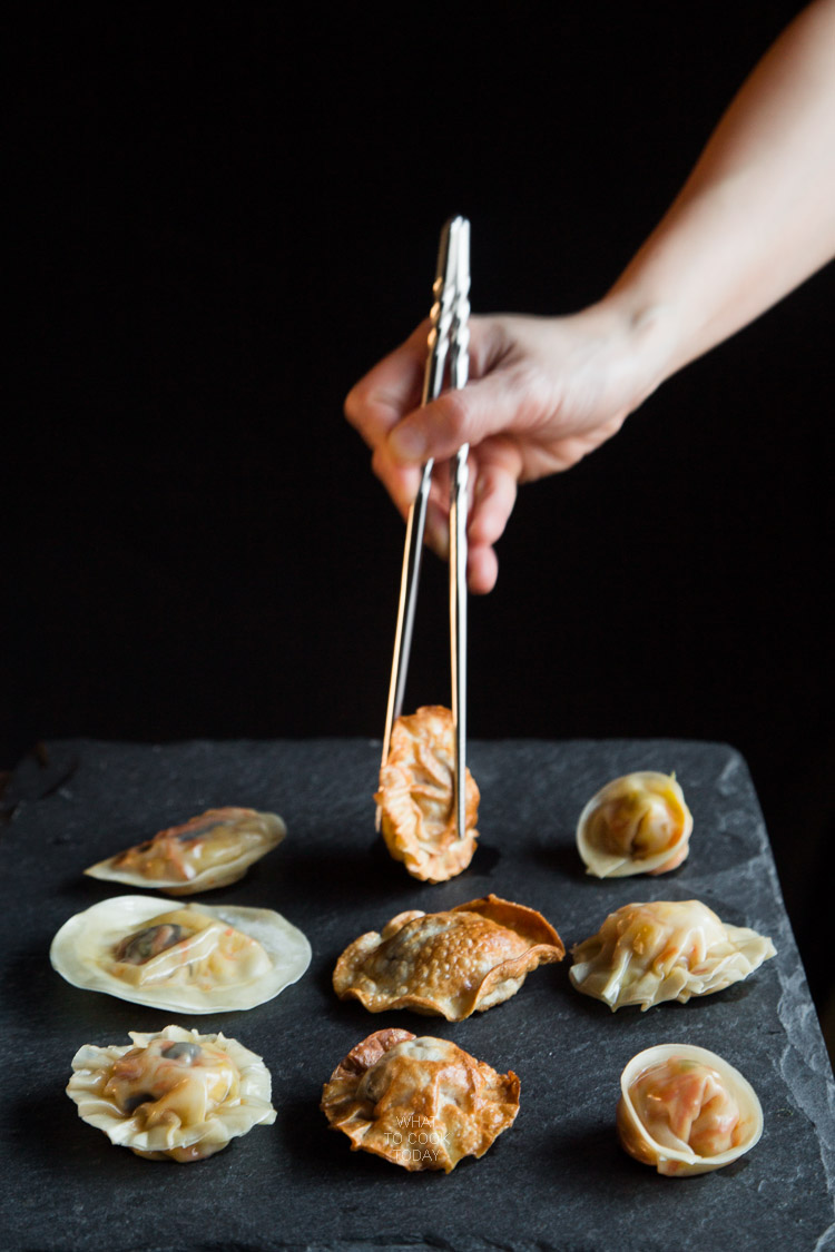 How to make Yin Yang Vegetable Dumplings. Delicious easy tasty Yin Yang Vegetable Dumplings recipe. Perfect appetizer. Click through for full recipe and step by step instructions