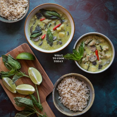 Thai Green Curry (with homemade curry paste)
