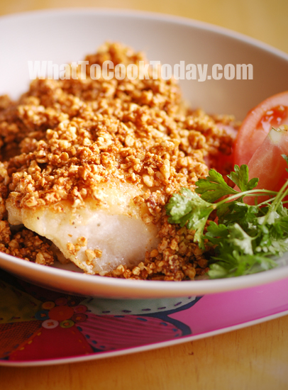 TWICE-COOKED FISH WITH CASHEW NUTS