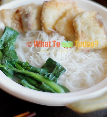 SLICED FISH RICE NOODLE/VERMICELLI SOUP