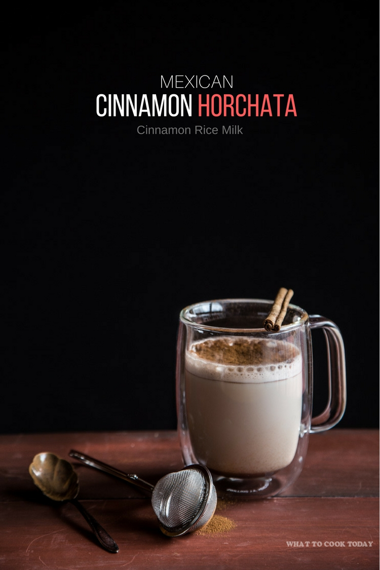 Mexican Cinnamon Horchata (Cinnamon Rice Milk). This recipe is different than typical recipes that use raw rice grains that can make your milk taste