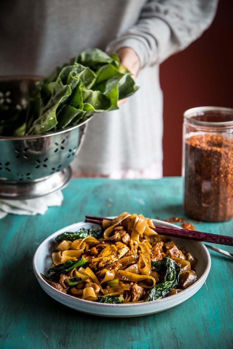 Pad See Ew (Thai Stir-fried Rice Noodles)