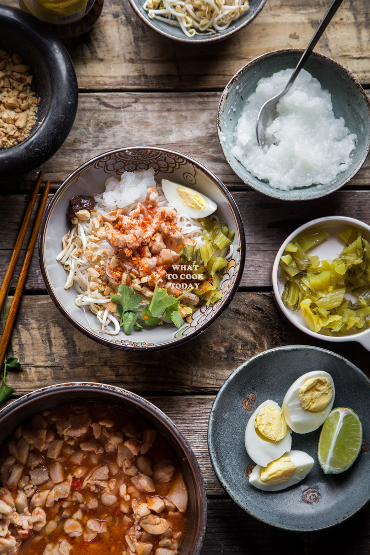 How to make Mandalay Mee Shay. Delicious Burmese Mandalay Mee Shay recipe. Click through for full recipe and step by step instructions