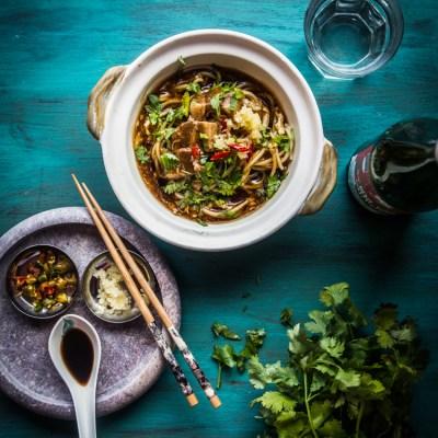 Singaporean lor mee (braised noodles) -updated