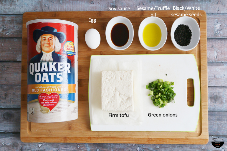 Savory oatmeal bowl to start your day