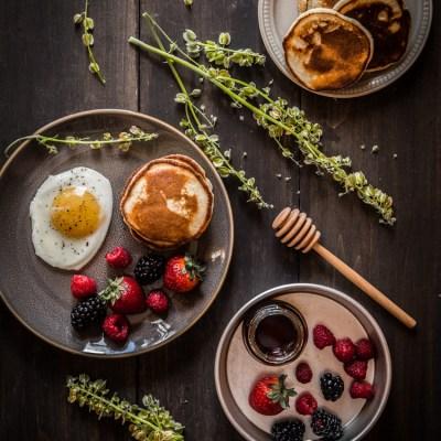 Ricotta coconut flour pancakes