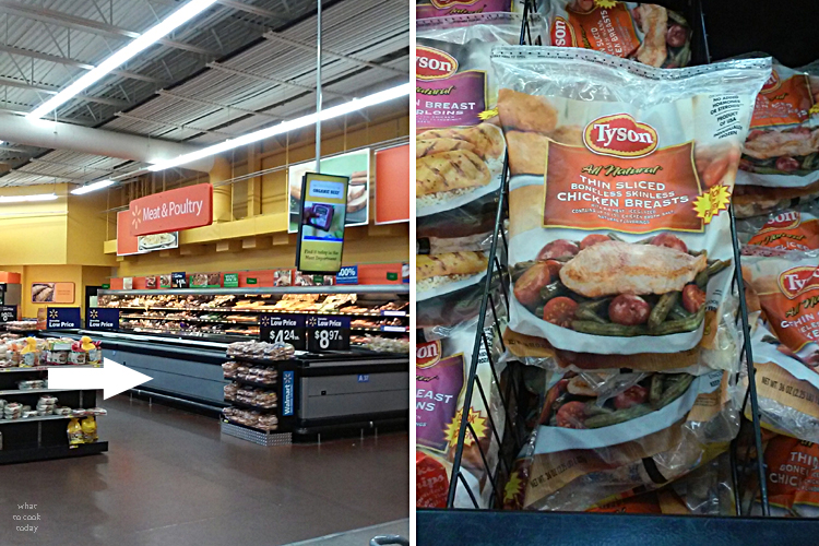 Ad #ThinSlicedChicken Tyson at walmart
