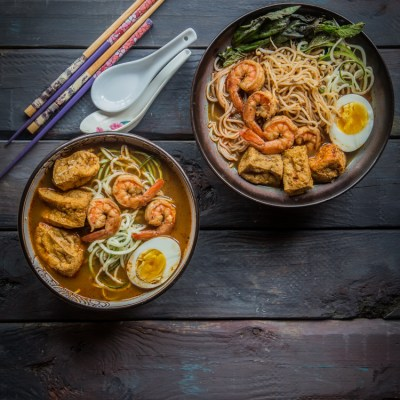 Red curry zoodles