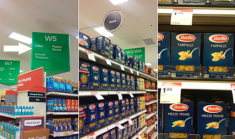 Barilla pasta at Target. So good you won't believe the sauce is made of cauliflower #FamilyPastaTime #ad
