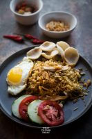Leftover Turkey Nasi Goreng (Indonesian Fried Rice)