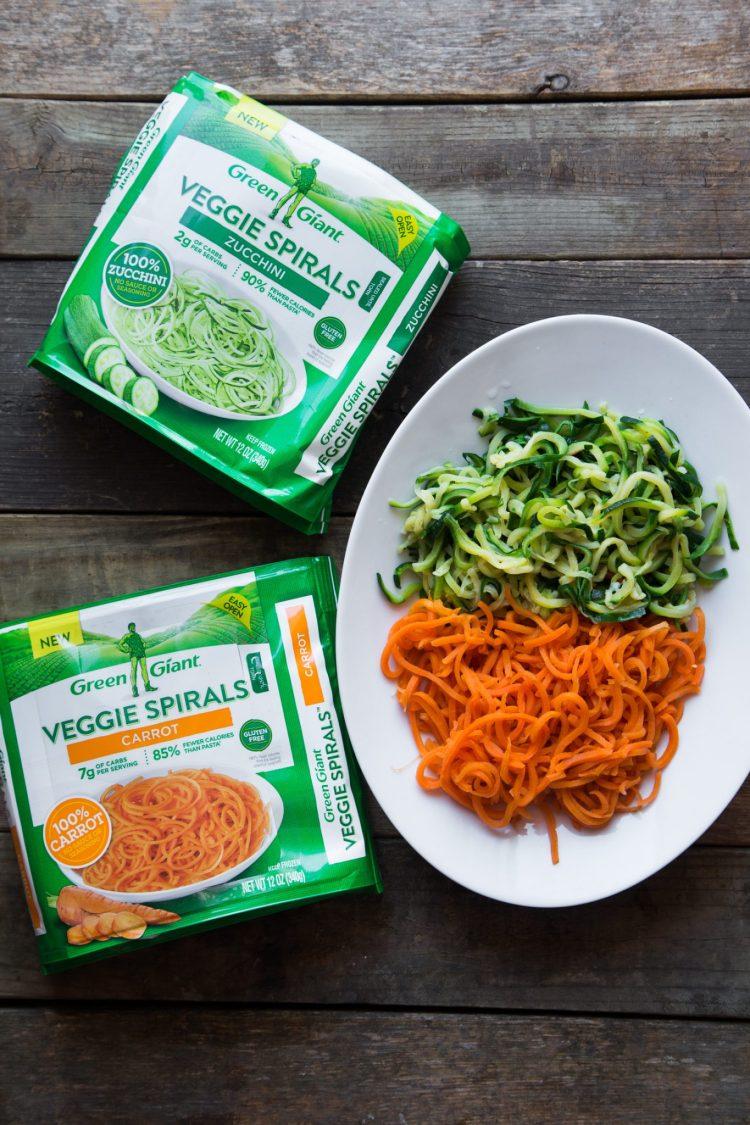Green Giant Veggie Spirals #ad #VeggieSwapIns #IC