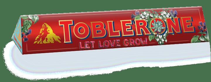 Toblerone Chrunchy Almonds Sleeve designed by Alessa Lanot 100G