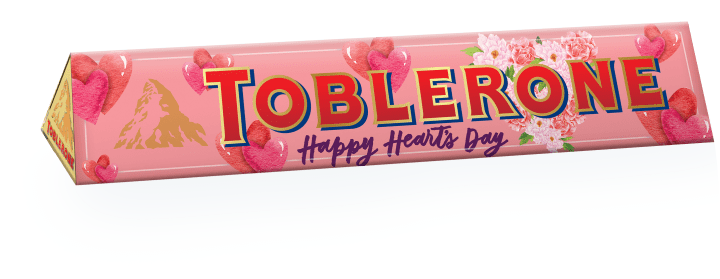Toblerone Milk Chocolate Sleeve designed by Anina Rubio 100G