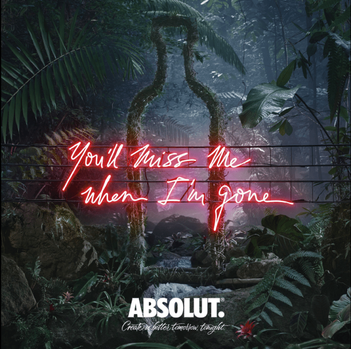 Olivia Steele for Absolut 2