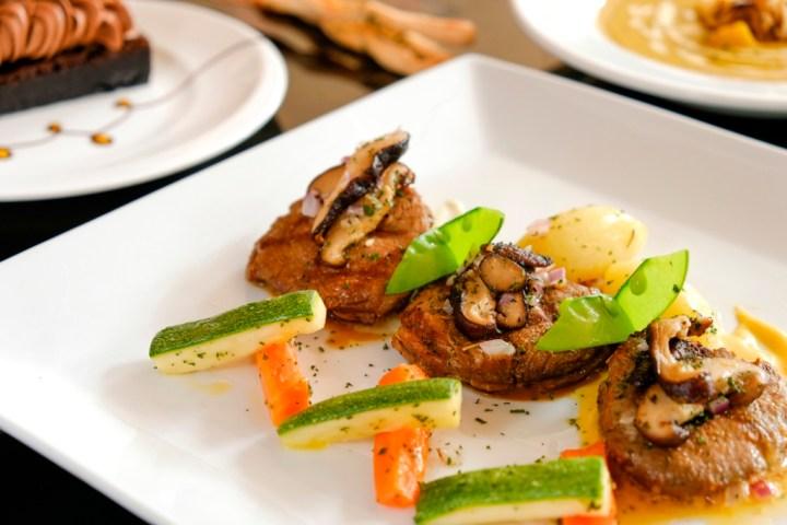 EC+B Chef's Summer Specials, Trio of Beef Medallion