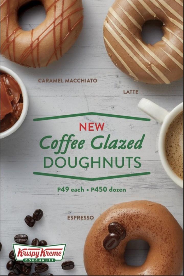 Krispy Kreme Coffee Glazed