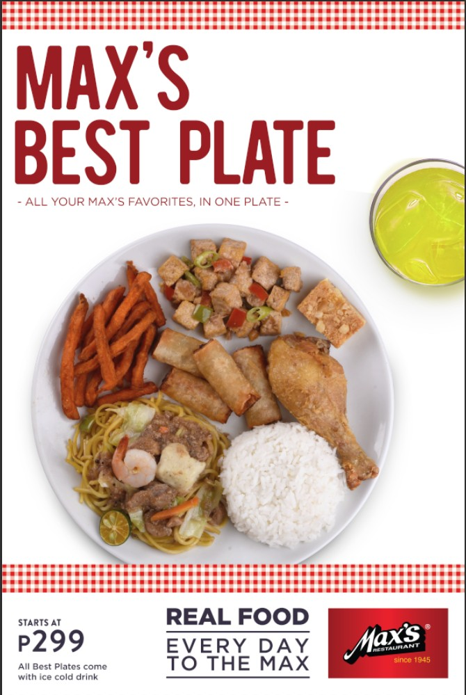 Max's Best Plate