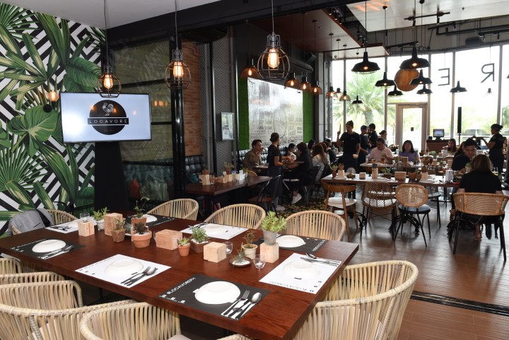 Locavore levelled-up concept at S Maison