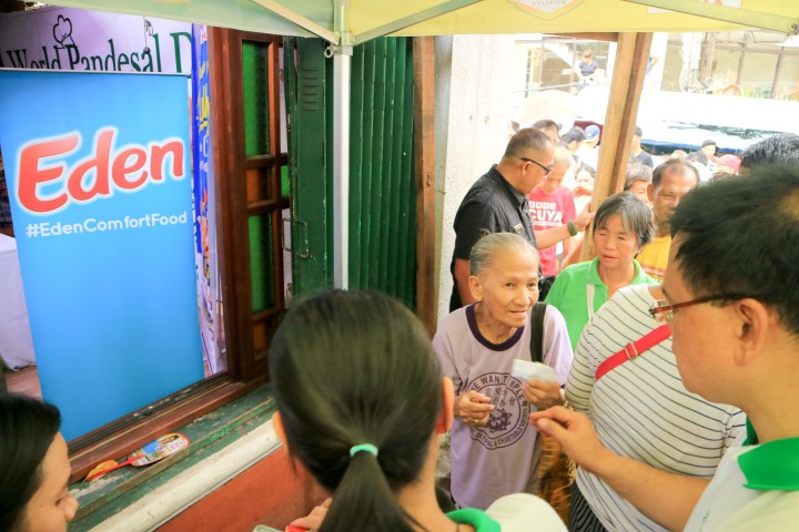 Eden #GiveGoodness at World Pan de Sal Day 1