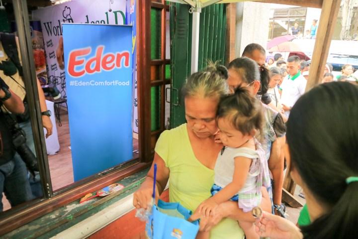 Eden #GiveGoodness at World Pan de Sal Day 2